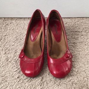 Dollhouse red heels
